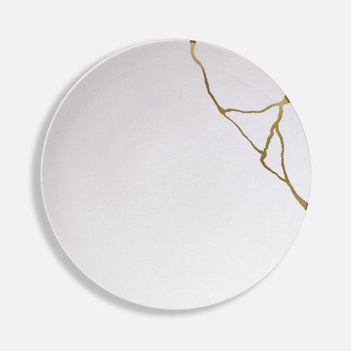 Assiette plate 27 cm Kintsugi Sarkis - BERNARDAUD