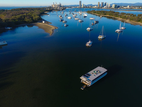 Drones trialled to catch squatting boaties