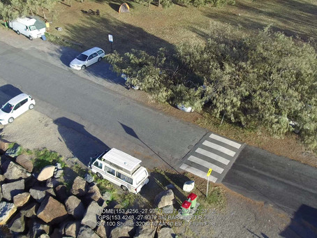 Drone Surveillance Evicts Illegal Squatters