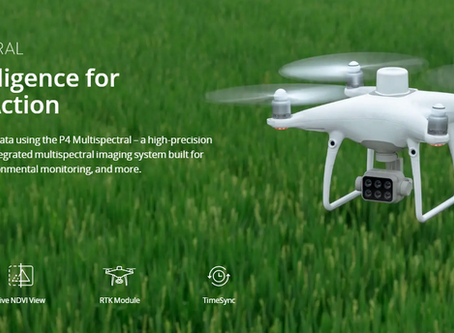 DJI Introduces Integrated Agriculture Drone Solution - P4 Multispectral