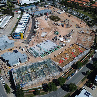 Drone Construction monitoring in north lakes Brisbane