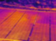Solar farm drone thermal inspection