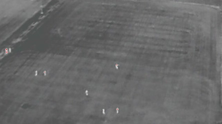 Drone Security Thermal Surveillance