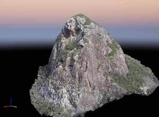 Mt Tibrogargan 3D Drone Model