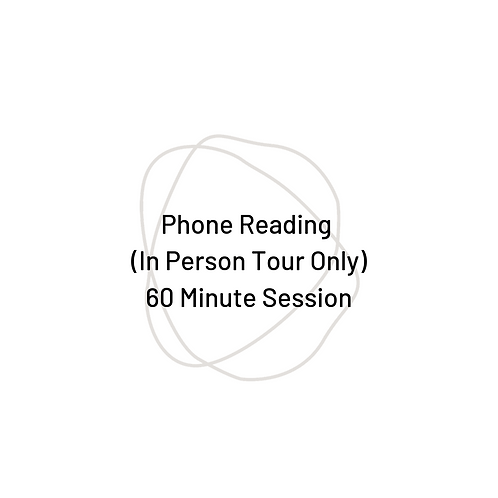 60 Minute Phone Reading