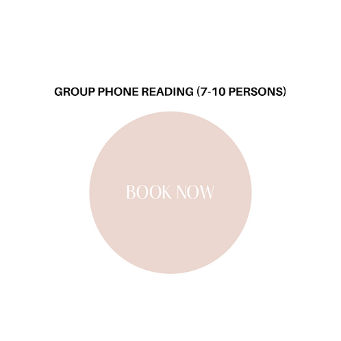 2 Hour Phone Group Reading [7-10 Persons]
