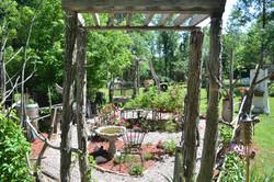 Rustic Rose Garden