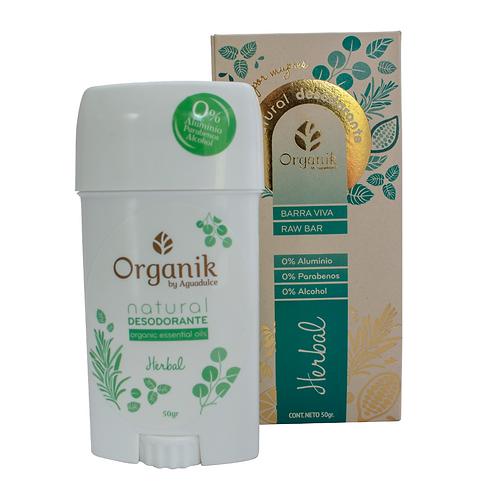 Desodorante Natural - Herbal Organik