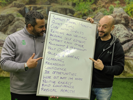 MOTIVATING MEN PROGRAMME LAUNCHES FOR 2020
