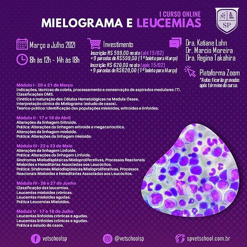 1º Curso Online de Mielograma e Leucemias.