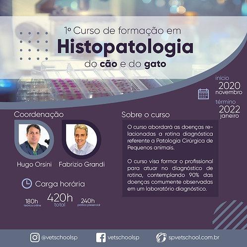 1º Curso de Formação em Histopatologia Cirúrgica.
