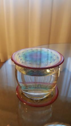 OSENS - Double Grand disque sur verre