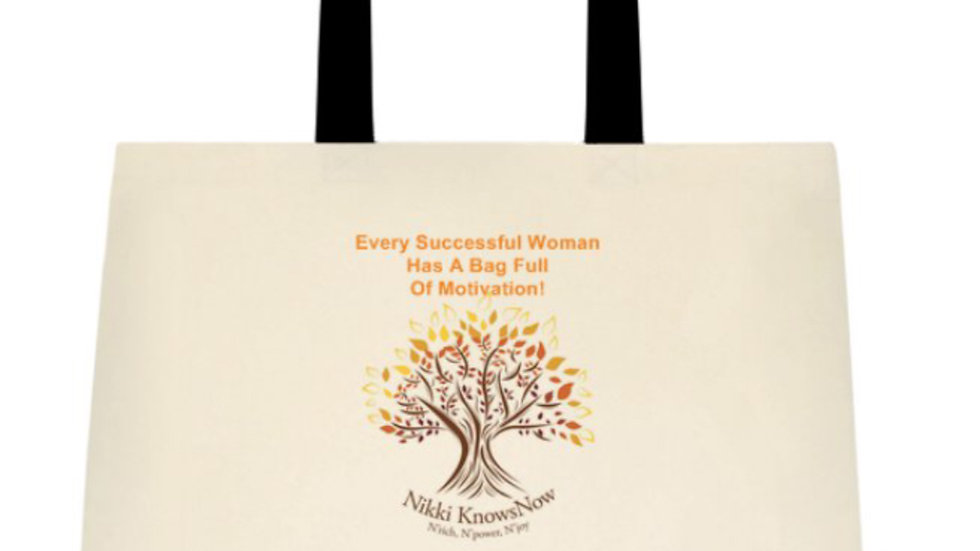 """""""Every Successful Woman Has A Bag Full Of Motivation"""" Tote"""