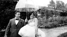 A rainy wedding day?