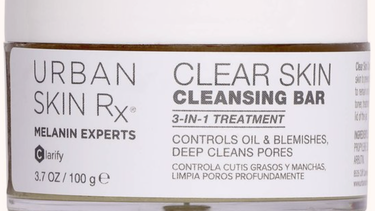 CLEAR SKIN CLEANSING BAR     3.7oz
