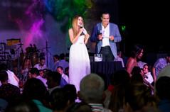 Raquel Bigorra y Omar Fierro