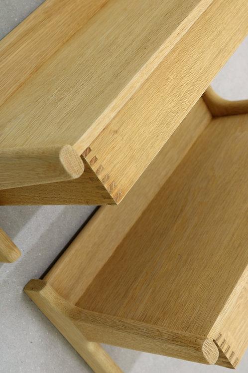 Bed side tables. Børge Mogensen.