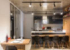 Ecto arquitetura - Projeto madeira e concreto. Design de Interiores