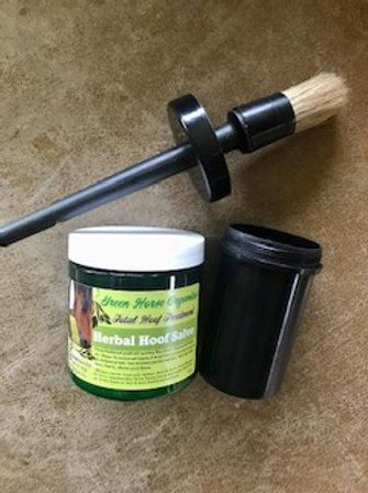 Herbal Hoof Salve with Brush/Jar