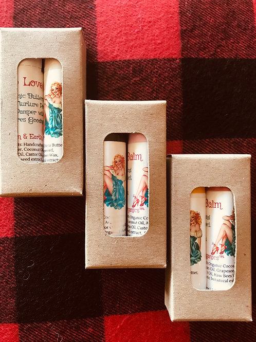 Organic Lip Butter-Lip Love-2 Packs