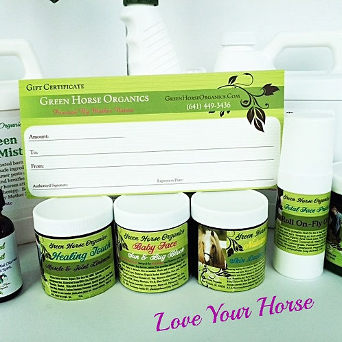 Gift Certificate- Let your Horse friend choose