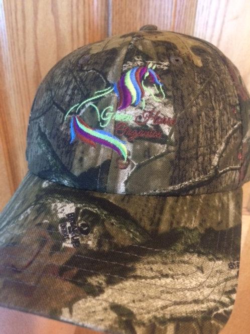 Green Horse Organics Logo Cap- Camo