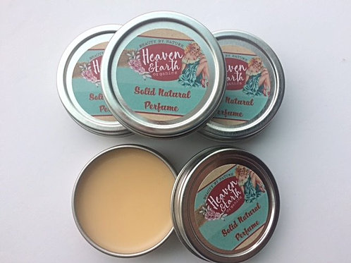 Solid Perfume Pots- All Natural Scents