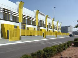 fachada amarilla