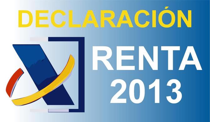 Borrador Declaración de la Renta 2013 - 6 Pasos