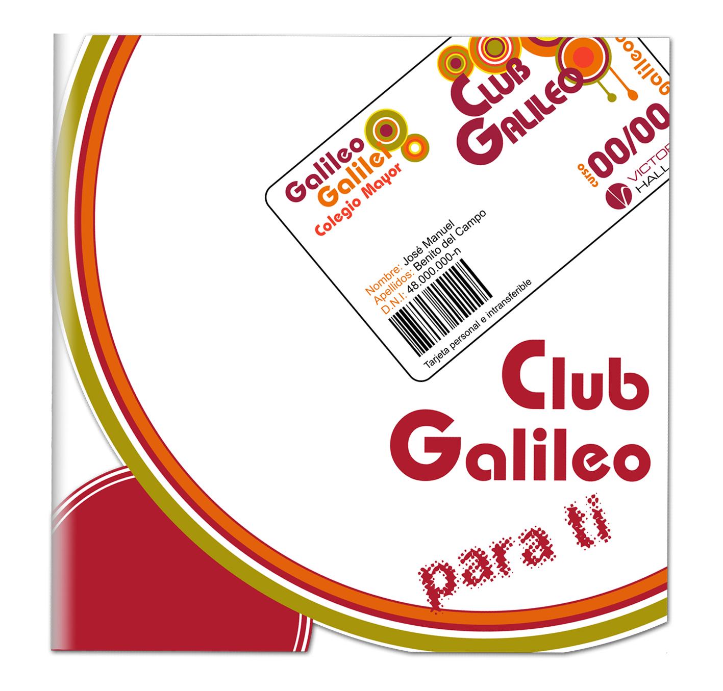 Díptico Tarjeta Club Galileo