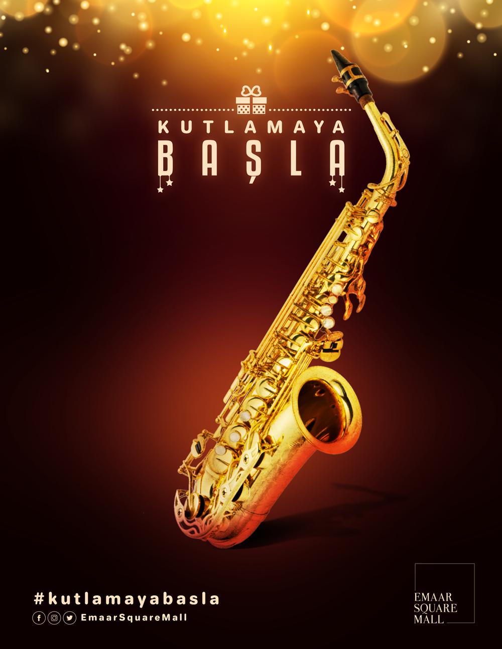 Emaar - New Year Poster Design