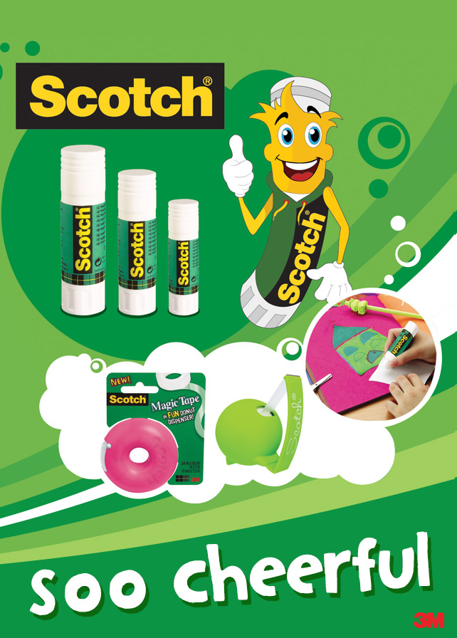 Scotch - Magazine Ad