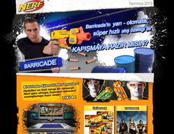 Hasbro Nerf Bulletin Design