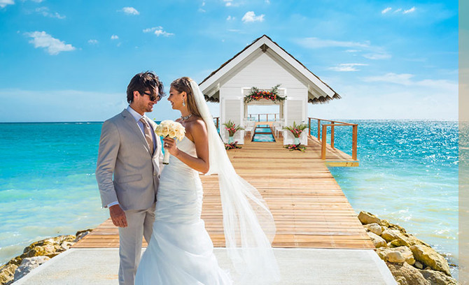 New Sandals Elopements in the Caribbean