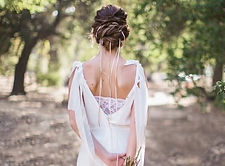 Lovely elopement gown