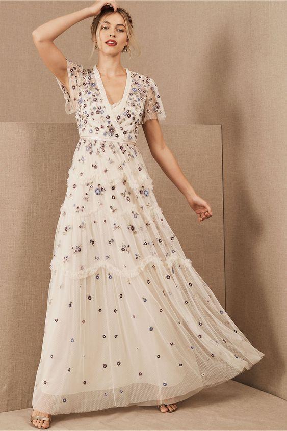 6 Bohemian Elopement Dresses