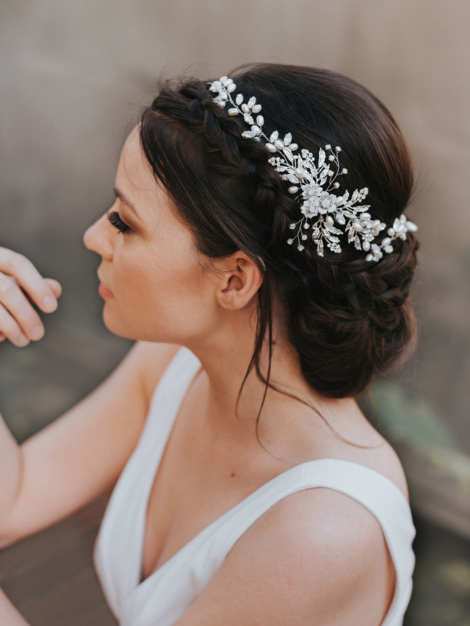 Stunning Hair Accessories by Hair Comes the Bride