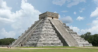 Chichen Itza ruins in the elopement destination of Mexico.