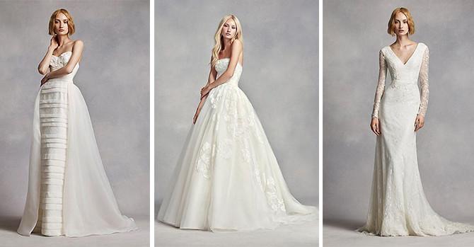Vera Wang Wedding Dresses Accessible for Elopements