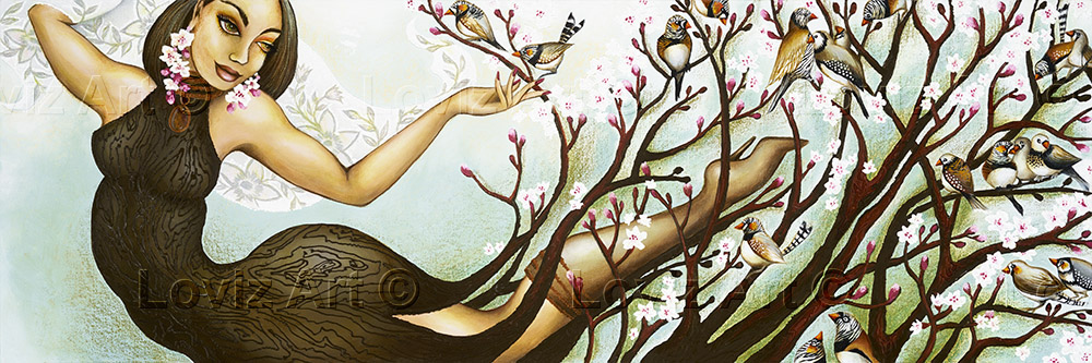 1673_Song Tree 40x120cm