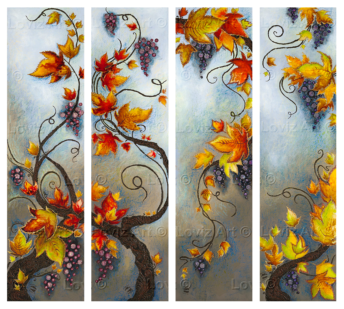 Growth Set 114x30cm x 4