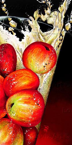 1724_Making Sweet Apple Love 45x90cm