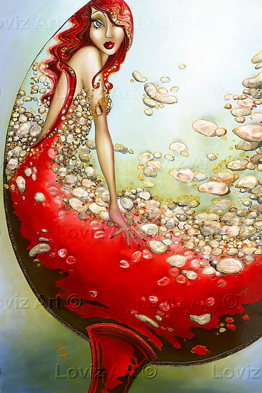 Crystal Liquid Reds