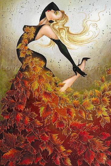 Autumn Fire Angel