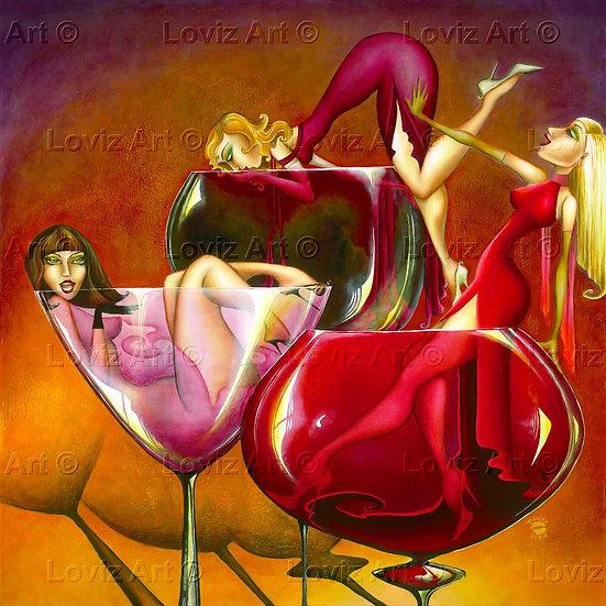 Three Blind Wines