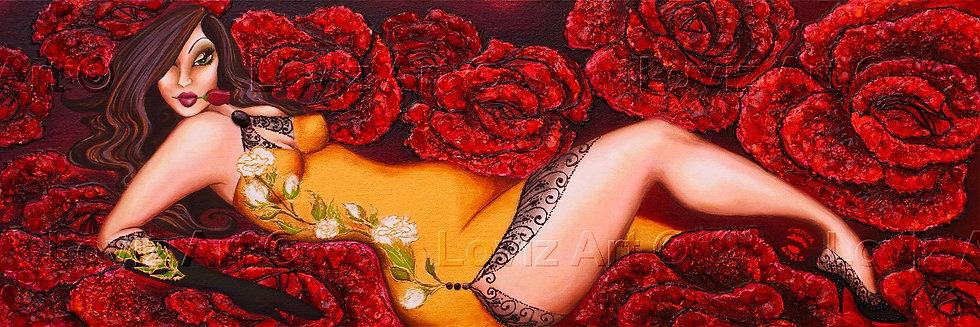 Her Wild Roses Grow