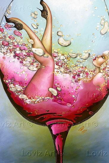 Crystal Liquid Bubbles