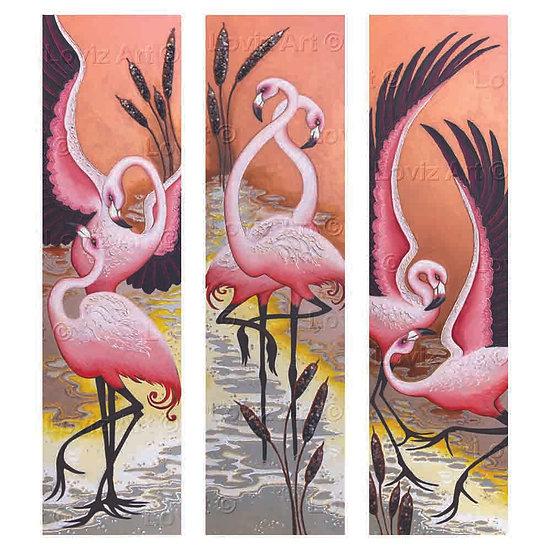 Flamingo Tango- Set