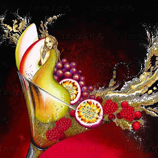 Making Fruit Cocktail Love