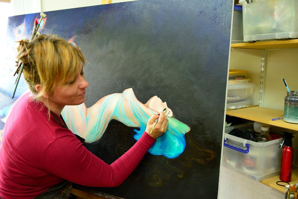 Tanya Loviz Painting